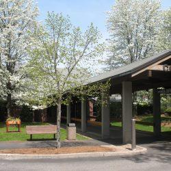 Cotting School's entrance
