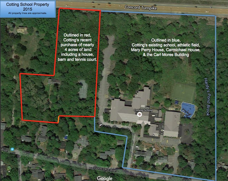 cotting buys adjacent land