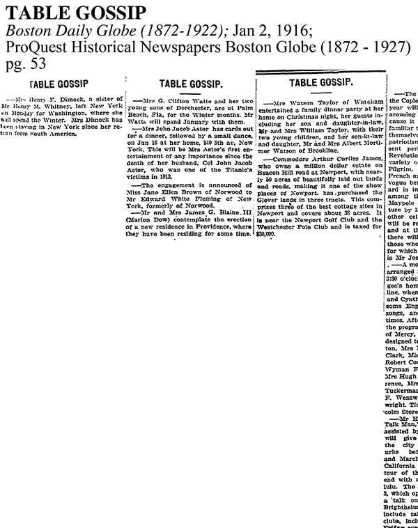 1916-1-2 Table Gossip preview