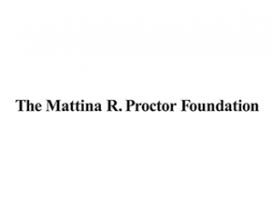 Mattina Proctor Foundation logo