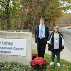 Two Students from Cotting School Going to Work at Lahey Clinic in Burlington Massachusetts