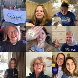 Cotting students and staff showed school spirit in photo submissions from home.
