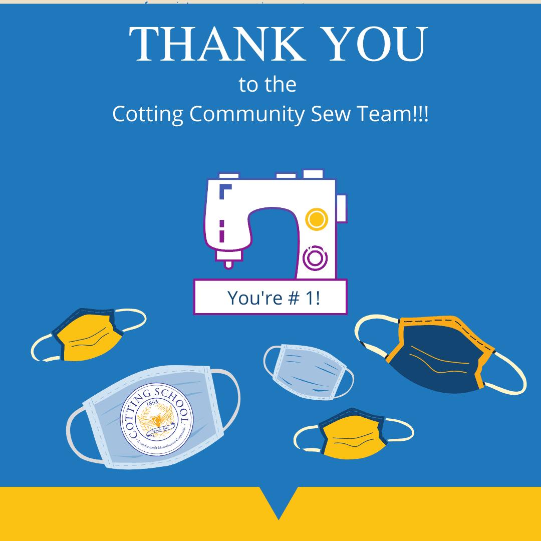Cotting Community Sew Team Graphic
